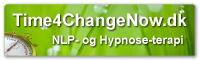 Time4ChangeNow – Effektiv NLP- og Hypnose-terapi Logo